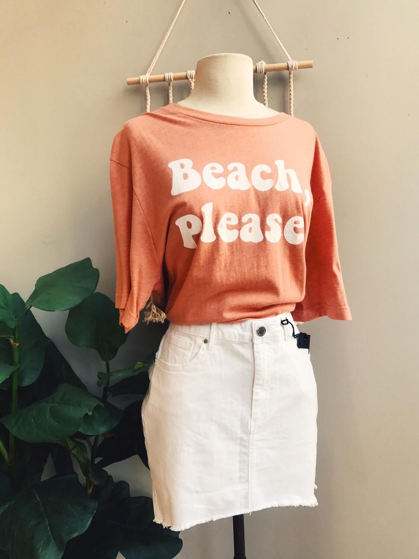 Beach Please Comfy Tee
