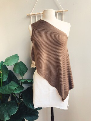 Emily One Shoulder Knitted Top