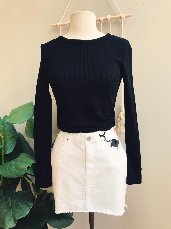 Hailey Waffle Knit Shirt