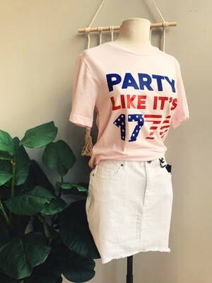 Party Like Its 1776 Comfy Tee