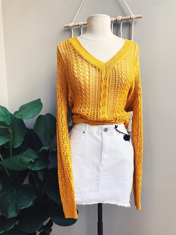 Sammie Open Knit Sweater