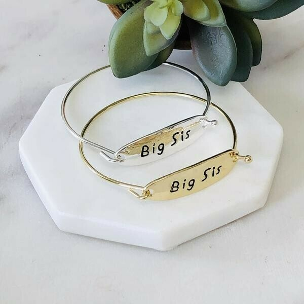 Big Sis Bangle Bracelet