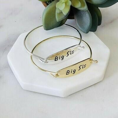 Big Sis Bangle Bracelet