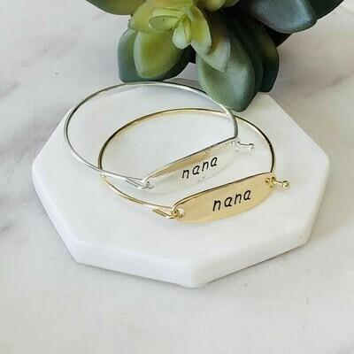 Nana Bangle Bracelet