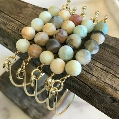 Amazonite Stone Bracelet