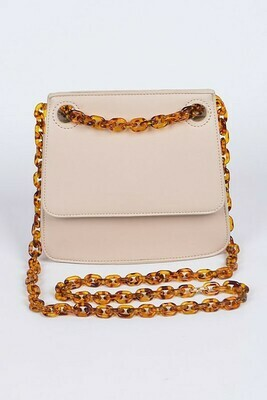 Turtleshell Chained Classic Clutch