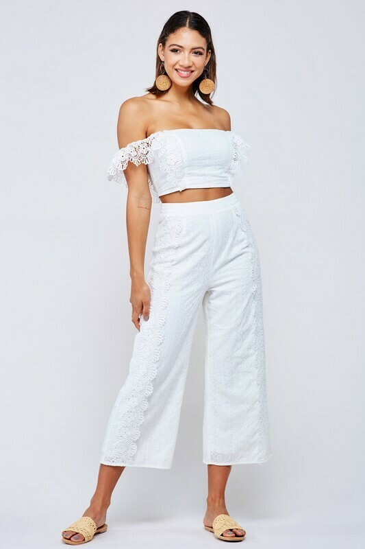 Hayley Embroidered Set