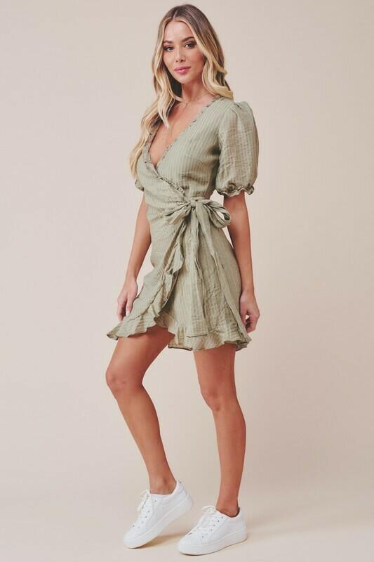 Brielle Wrap Dress
