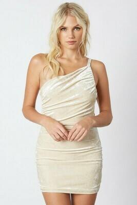 Fran Crushed Velvet Dress