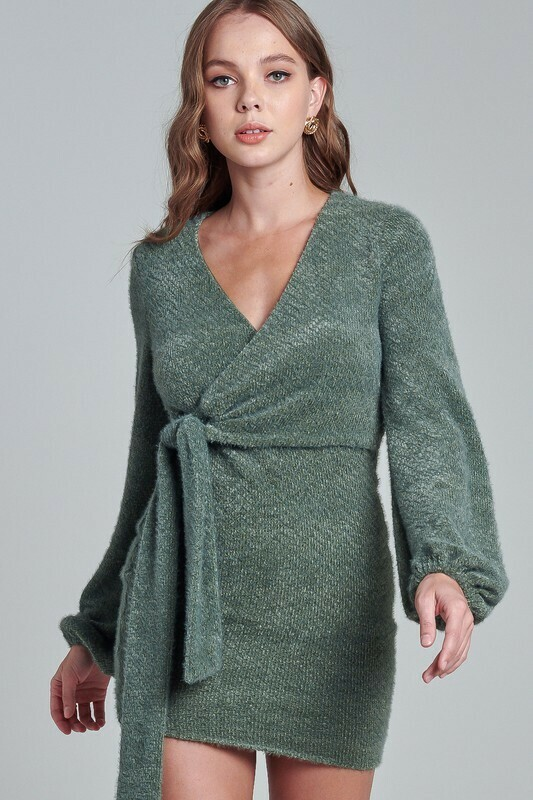Keely Wrap Around Dress