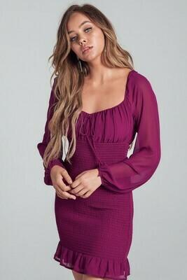 Fiona Bubble Sleeve Dress