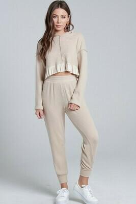 Miley Ruffle Set Pants