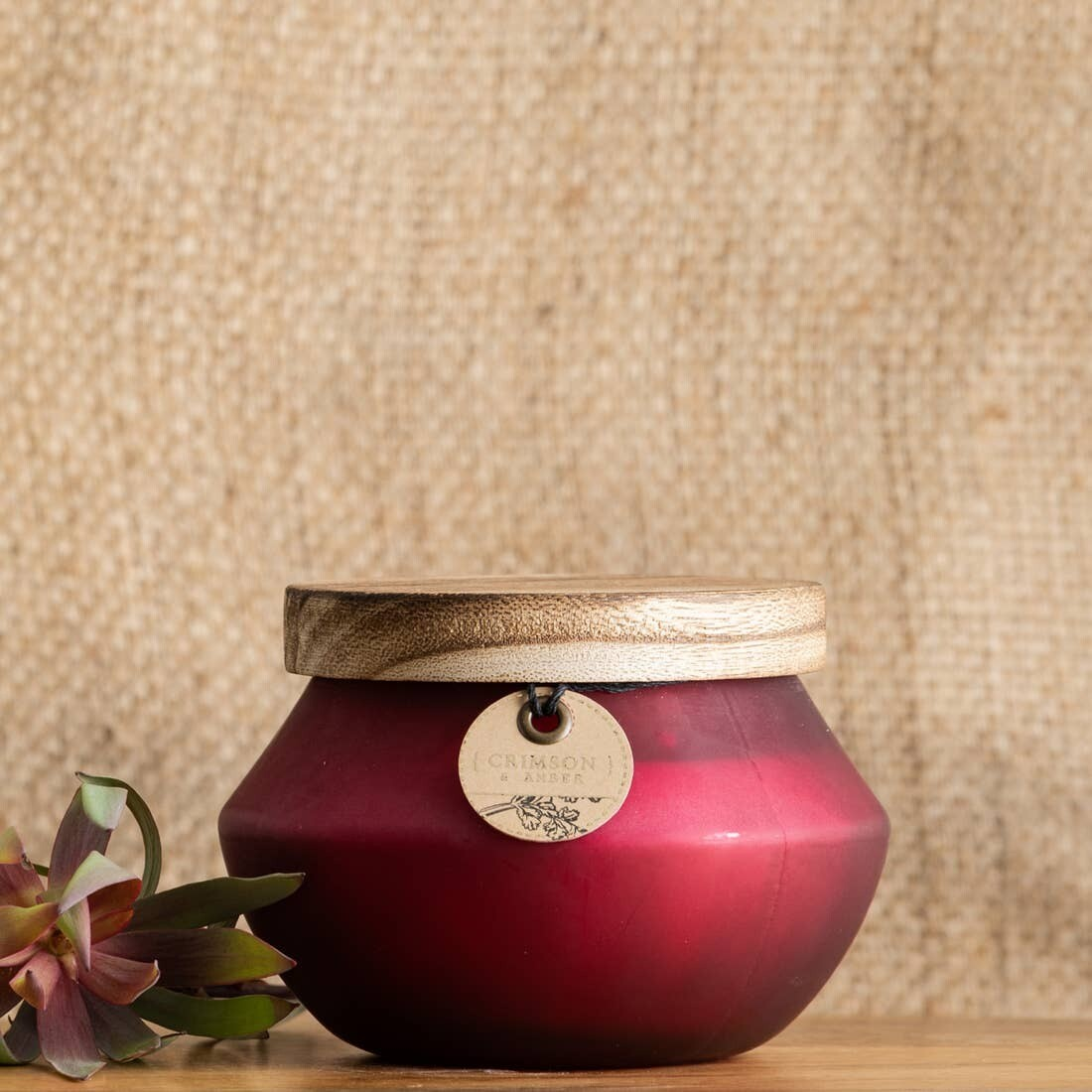 11.99 oz Crimson & Amber Candle