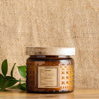 8.64 oz Honey Glazed Pumpkin Candle