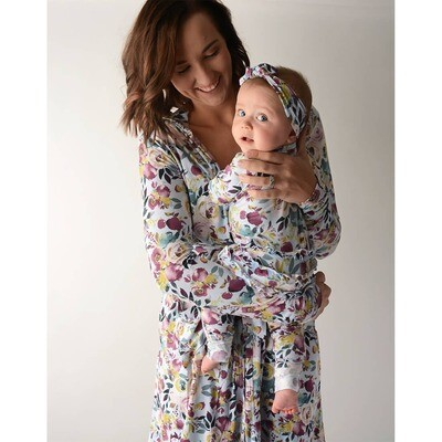 Annie Floral Mommy Robe