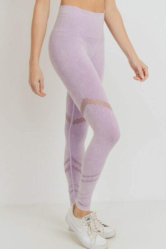 Graduated Angled Highwaist Seamless Leggings