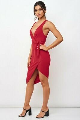 Bodycon Side Tie Dress