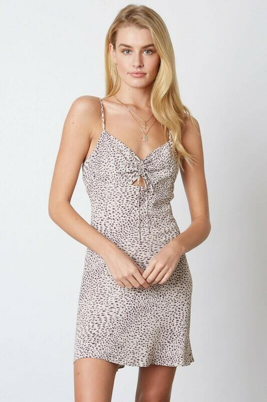 Leopard Sweetheart Dress
