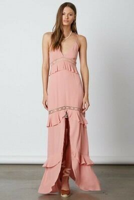 Middle Slit Maxi Dress