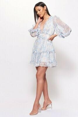 Adina Ruffle Tier Dress