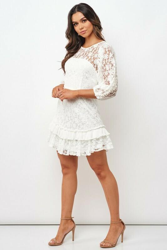 Callie Puff Sleeve Dress
