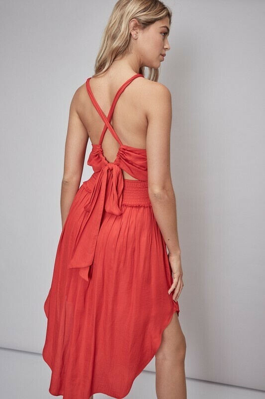 Gianna Criss Cross Dress