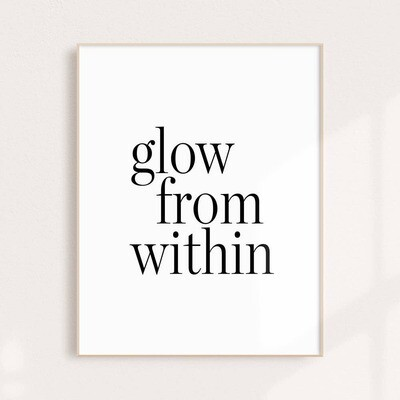 Glow from Within Wall Art Print 11x14