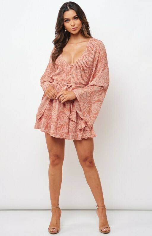 Stacie Bell Sleeve Dress