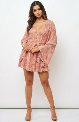 Stacie Bell Sleeve Dress