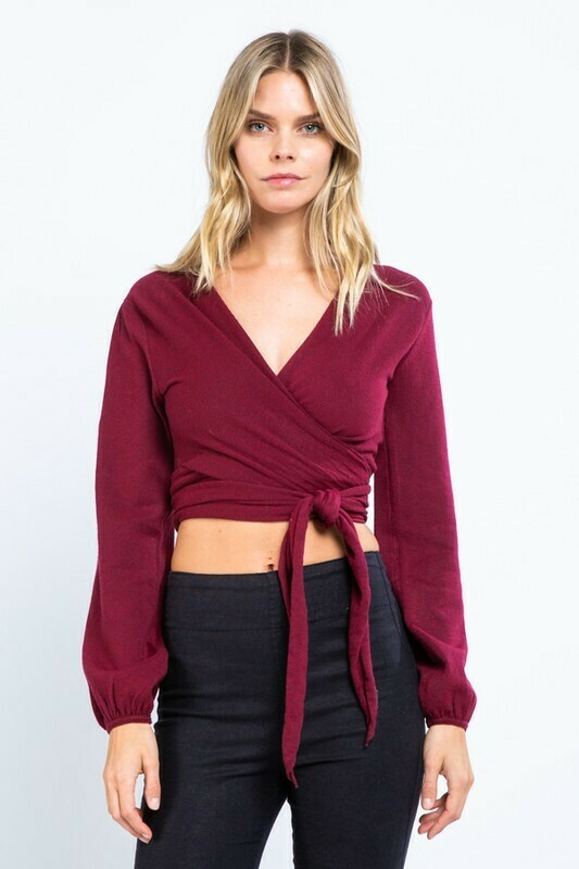 Front Wrap Berry Top