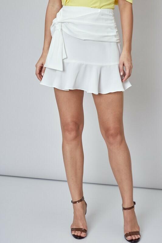 Front Tie Skirt