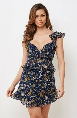 Wendy Chiffon Ruffle Dress
