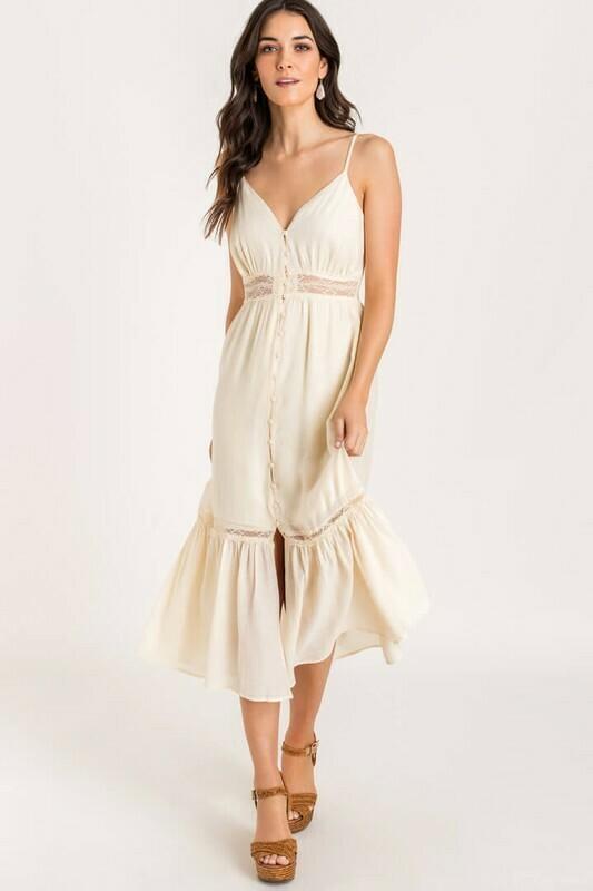 Gianna Waist Lace Dress