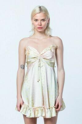 Polka Dot Strappy Dress