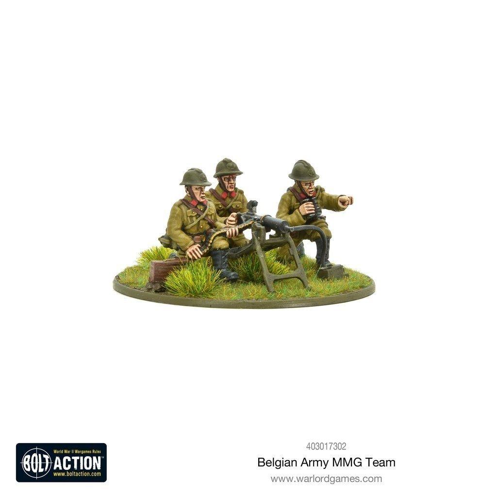 Belgian Army MMG Team