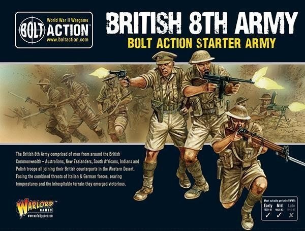 British 8th Army Bolt Action Starter Army
