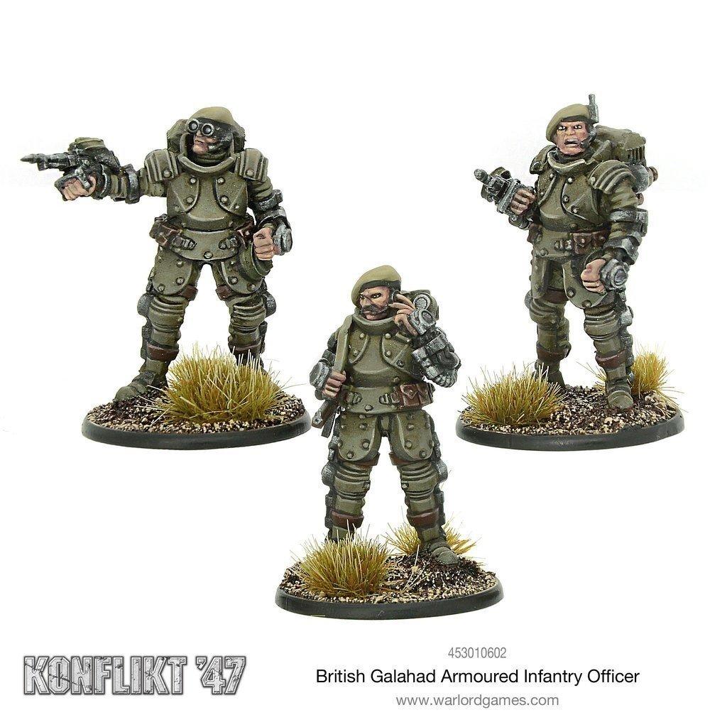 British Galahad Armoured Infantry Officer