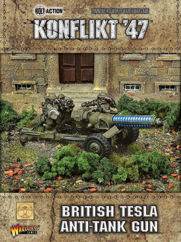 British Tesla Anti Tank Gun