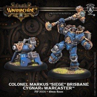 Colonel Markus Siege Brisbane
