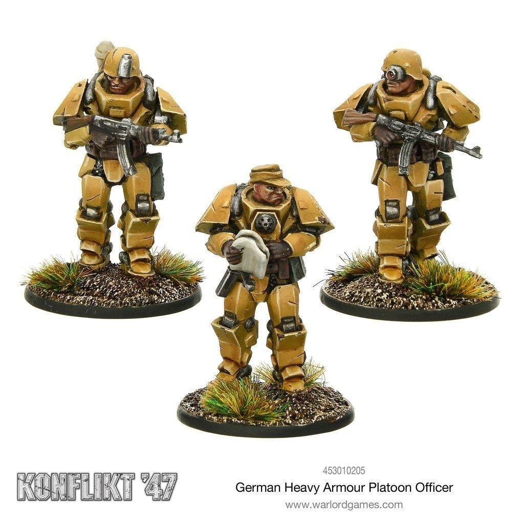 German Heavy Armour Platoon Officer