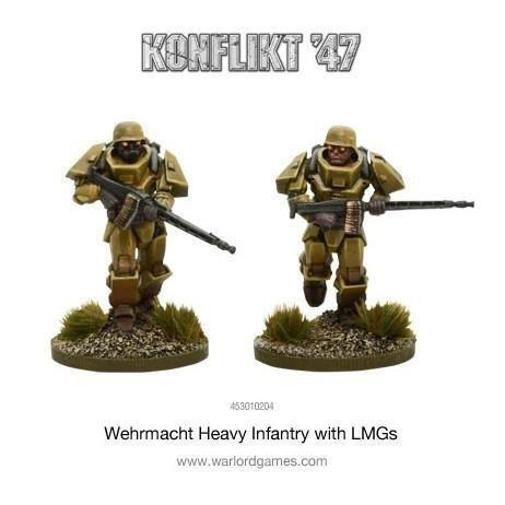 German Heavy Infantry Lmg