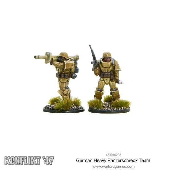 German Heavy Panzerschrek Team