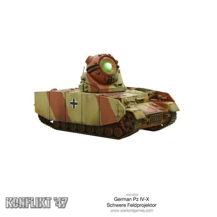 German Pz IV-X