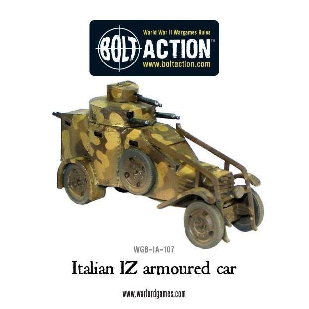 Italian Iz Armoured Car