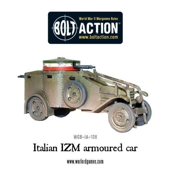 Italian Izm Armoured Car