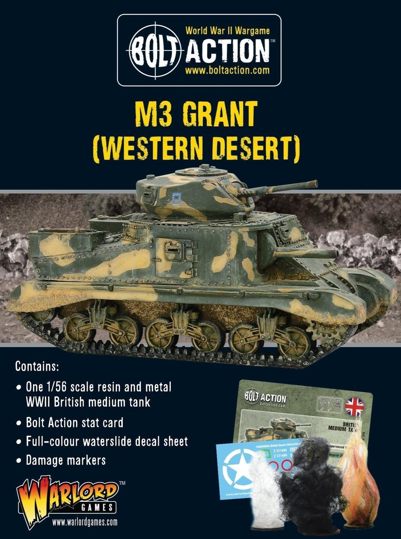 M3 Grant Western Desert