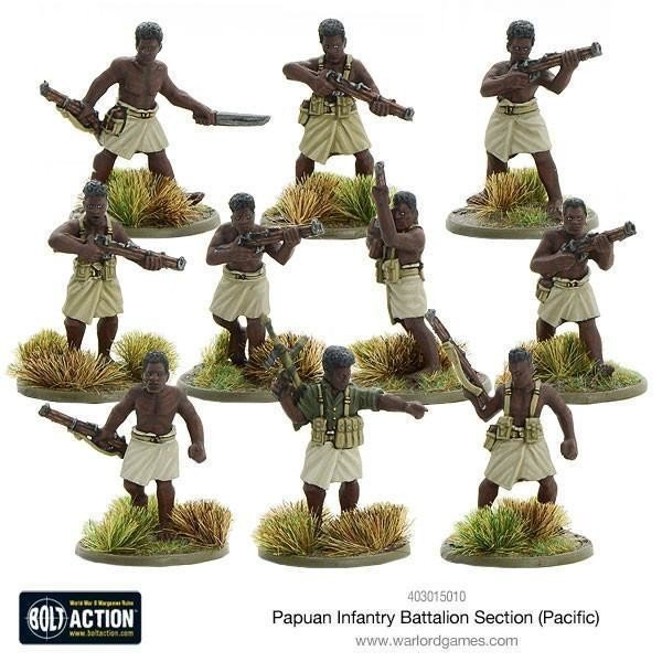 Papuan Infantry Batallion Section Pacific