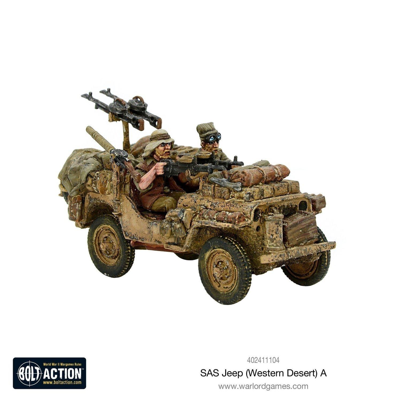 SAS Jeep Western Desert A
