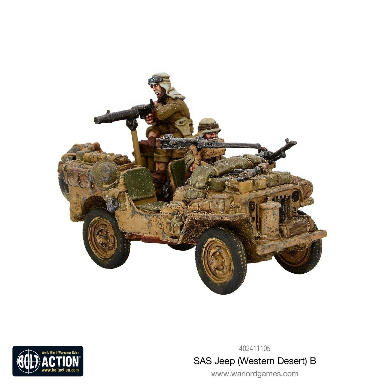 SAS Jeep Western Desert B