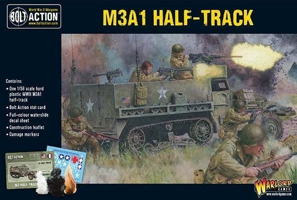US M3A1 Half-Track